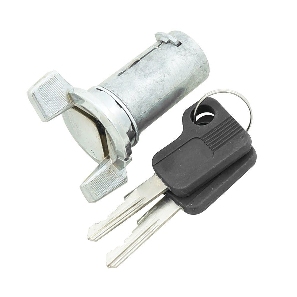 Cilindro de ignição com chave para GM Opala e Caravan após 1976  - Bunnitu Peças e Acessórios