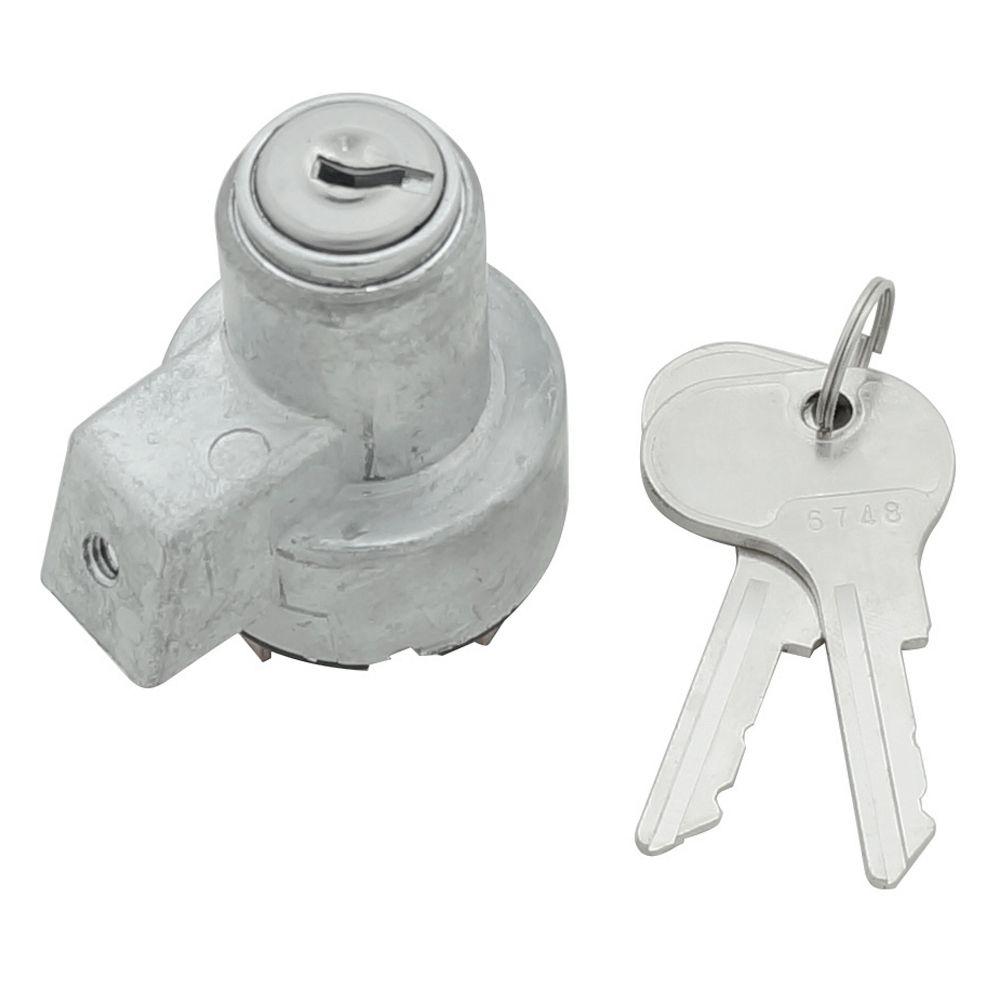 Cilindro, miolo de ignição com chave para painel do VW Kombi até 1964  - Bunnitu Peças e Acessórios