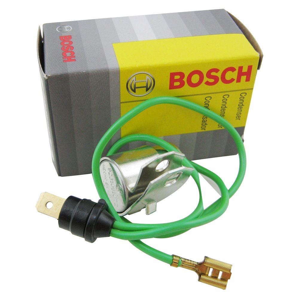 Condensador Bosch para distribuidor VW Fusca 1300 após 1974 e Kombi 1500 após 1972  - Bunnitu Peças e Acessórios