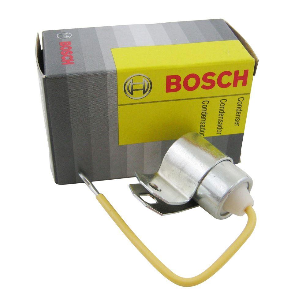 Condensador Bosch para distribuidor VW Fusca 1500, Karmann Ghia TC e Variant  - Bunnitu Peças e Acessórios