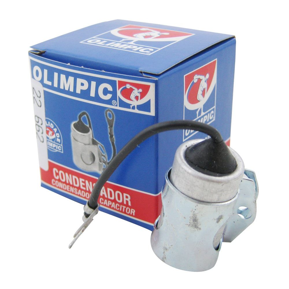 Condensador Olimpic Distribuidor Opala Caravan Veraneio Pick Up 4 e 6 Cilindros 1969 à 1984  - Bunnitu Peças e Acessórios