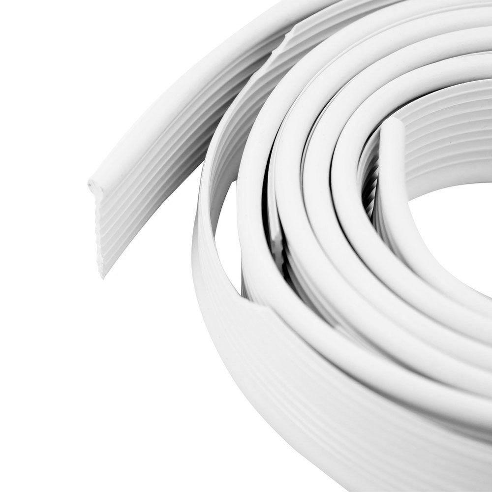 Deblun Galão do Paralama Cor Branca VW Fusca - Par Traseiro  - Bunnitu Peças e Acessórios