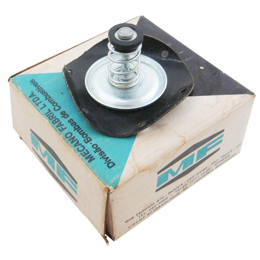 Diafragma da bomba de combustível para Ford Corcel e Belina até 1977  - Bunnitu Peças e Acessórios