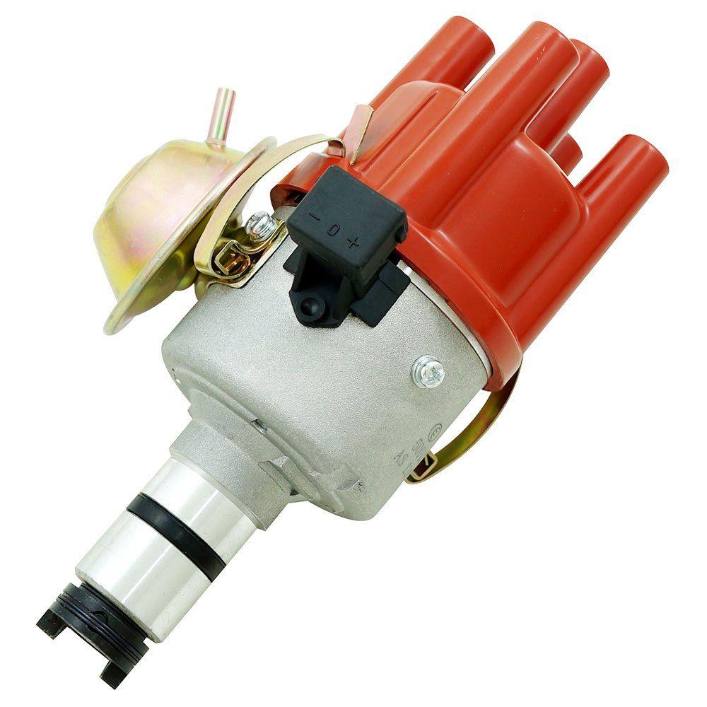 Distribuidor de ignição eletrônica sistema Hall mod. carburado para VW Fusca e Kombi  - Bunnitu Peças e Acessórios