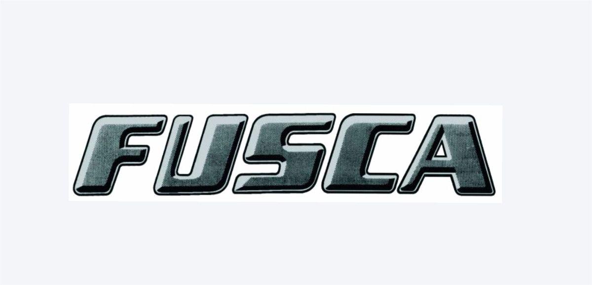Emblema Adesivo Cor Preto Prata Tampa Motor Fusca para VW Fusca  - Bunnitu Peças e Acessórios