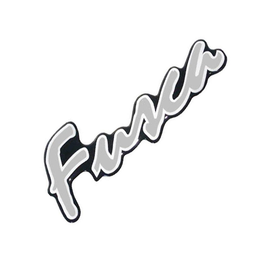 Emblema Adesivo Resinado Cor Prata VW Fusca Itamar 1993 à 1996  - Bunnitu Peças e Acessórios