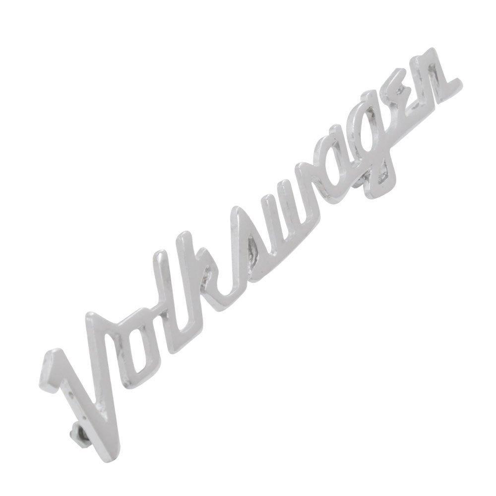 Emblema assinatura Volkswagen modelo Alemão para VW Fusca  - Bunnitu Peças e Acessórios