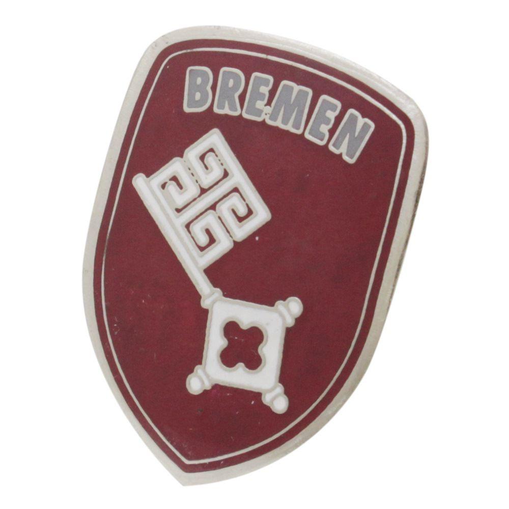 Emblema Brasão do capo modelo Bremen para VW Fusca até 1966  - Bunnitu Peças e Acessórios