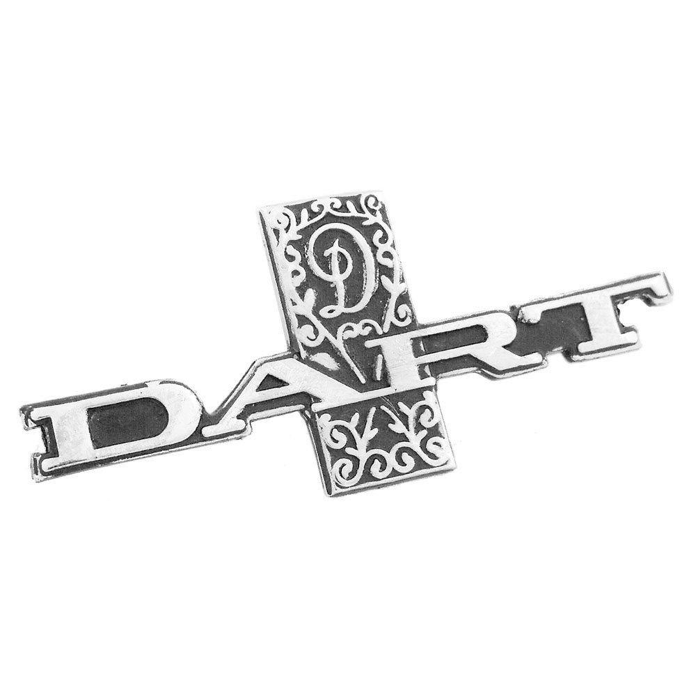 Emblema cromado do painel para Dodge Dart  - Bunnitu Peças e Acessórios