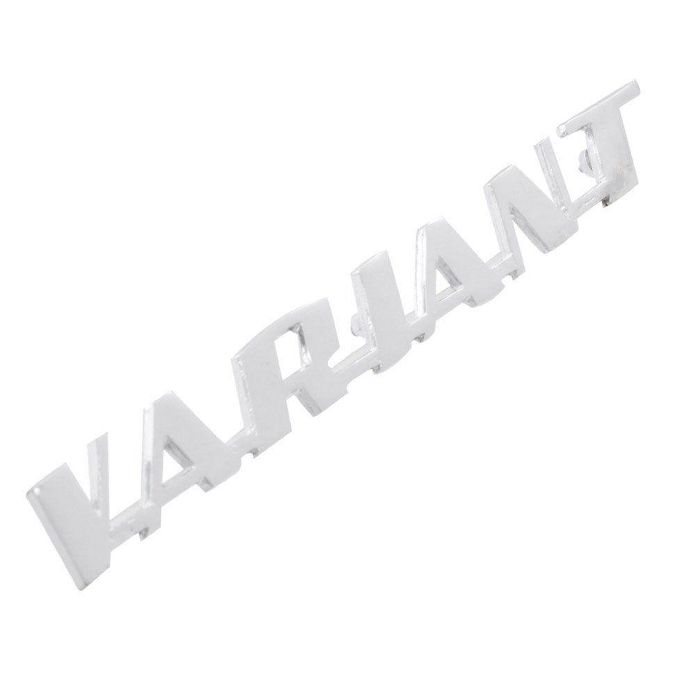 Emblema da tampa traseira VW Variant  - Bunnitu Peças e Acessórios