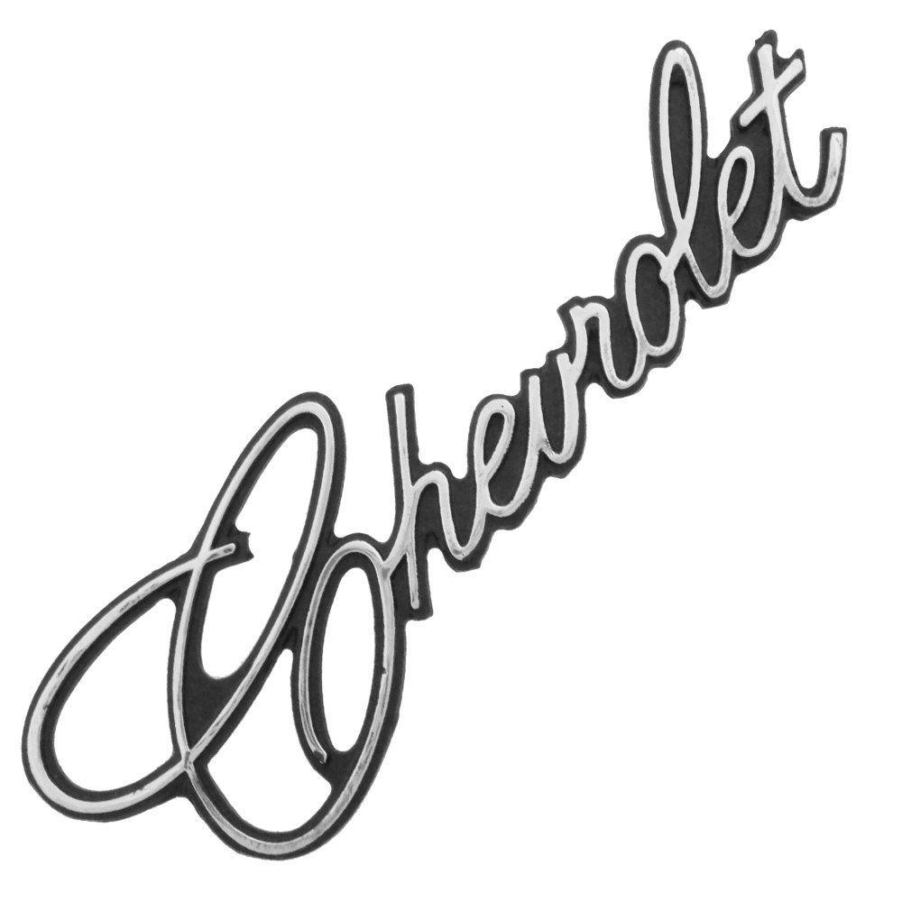 Emblema dianteiro ou traseiro para GM Chevrolet Opala 1975 à 1979  - Bunnitu Peças e Acessórios