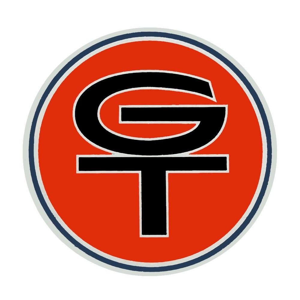 Emblema do botão de buzina GT  - Bunnitu Peças e Acessórios