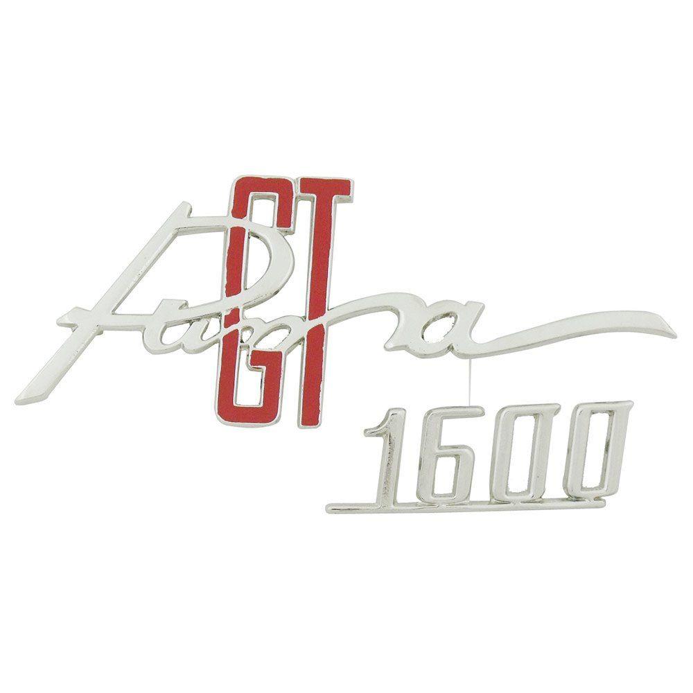 Emblema do porta luvas para Puma GT 1600  - Bunnitu Peças e Acessórios