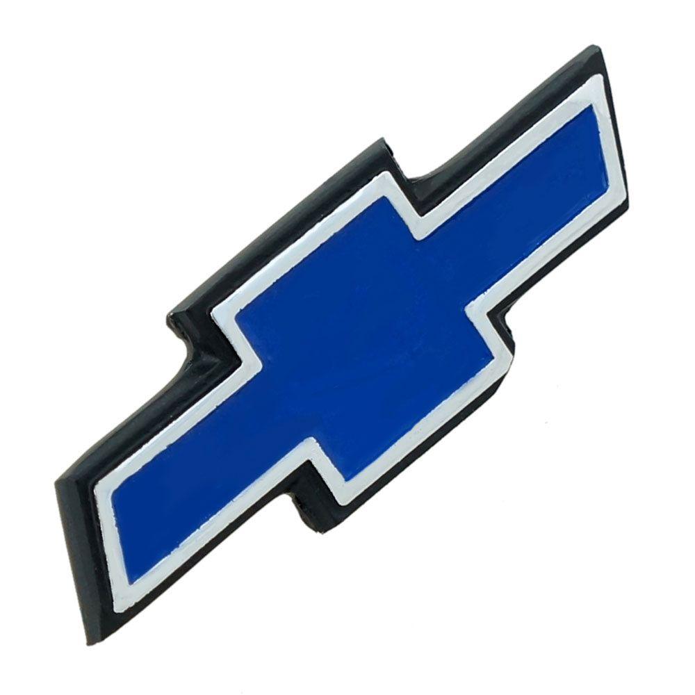 Emblema gravata do capo para GM Opala 1975 à 1979  - Bunnitu Peças e Acessórios
