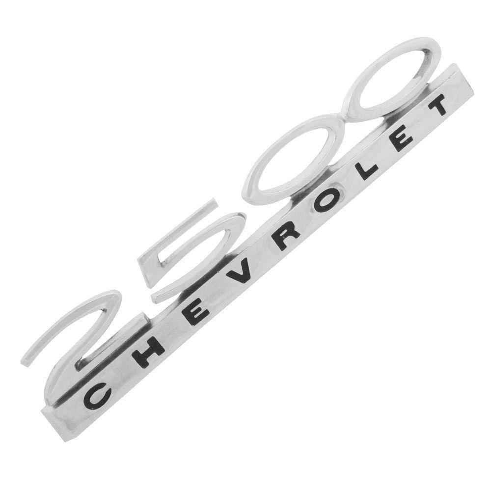 Emblema lateral modelo 2500 para GM Chevrolet Opala  - Bunnitu Peças e Acessórios