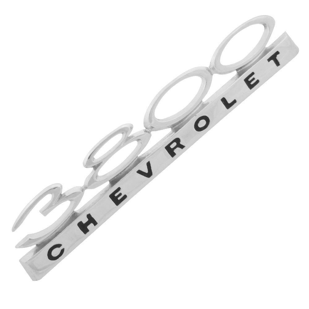 Emblema lateral modelo 3800 para GM Chevrolet Opala  - Bunnitu Peças e Acessórios
