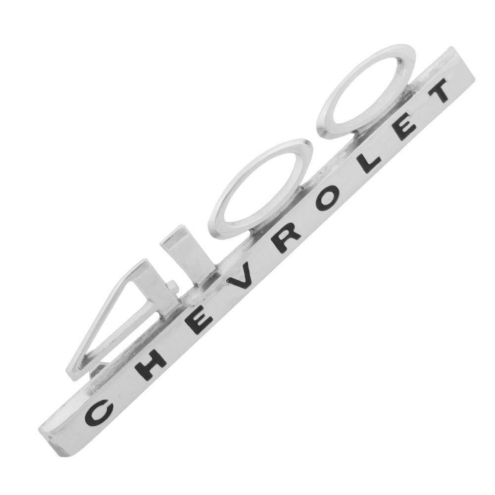 Emblema lateral modelo 4100 para GM Chevrolet Opala  - Bunnitu Peças e Acessórios