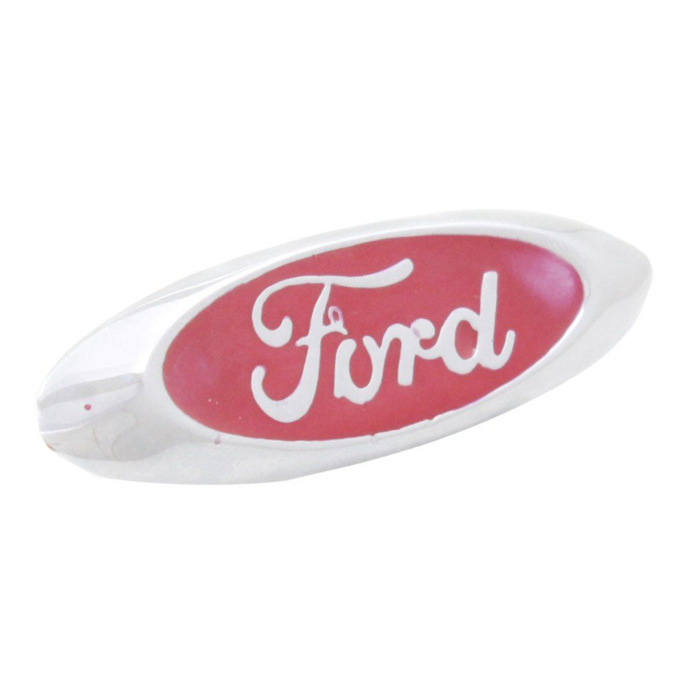 Emblema lateral modelo escudo oval para Ford Corcel, Belina, Rural e Jeep  - Bunnitu Peças e Acessórios