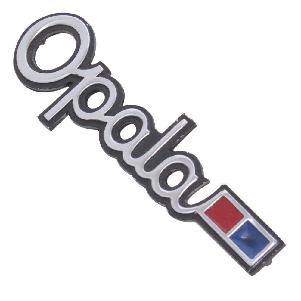 Emblema lateral para GM Chevrolet Opala 1975 à 1979  - Bunnitu Peças e Acessórios
