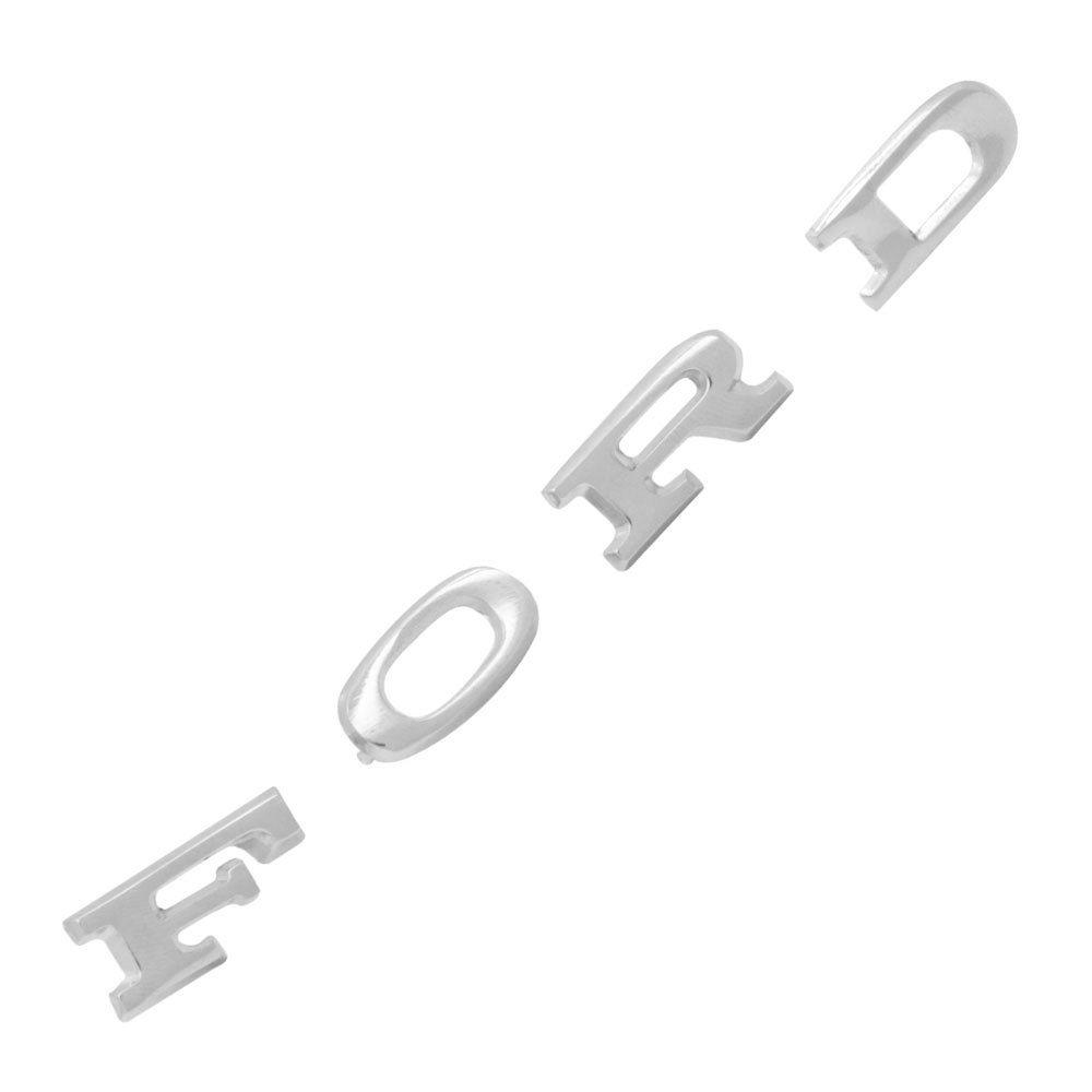 Emblema letras Ford modelo pequeno para Maverick, Landau, Corcel e Belina  - Bunnitu Peças e Acessórios