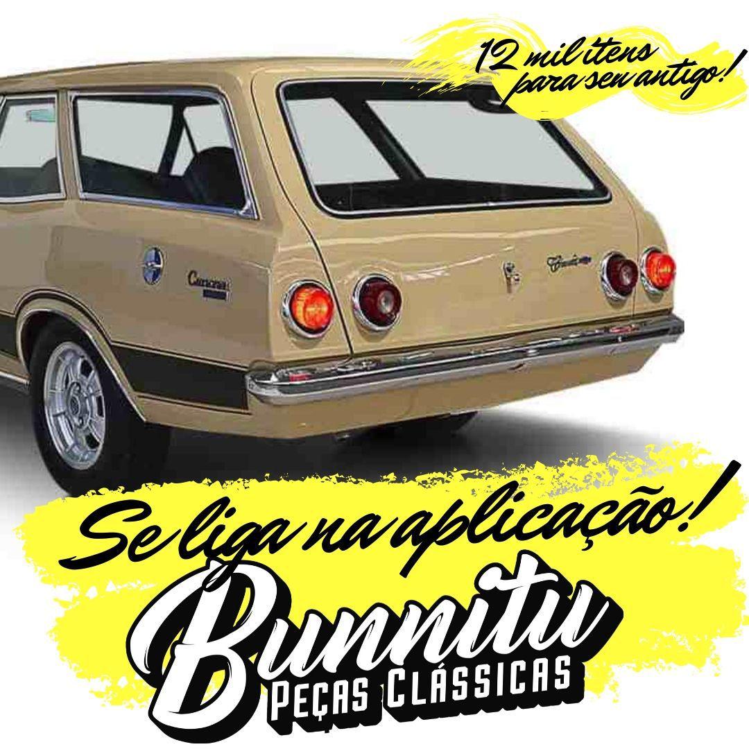 Emblema GM Chevrolet Caravan  - Bunnitu Peças e Acessórios