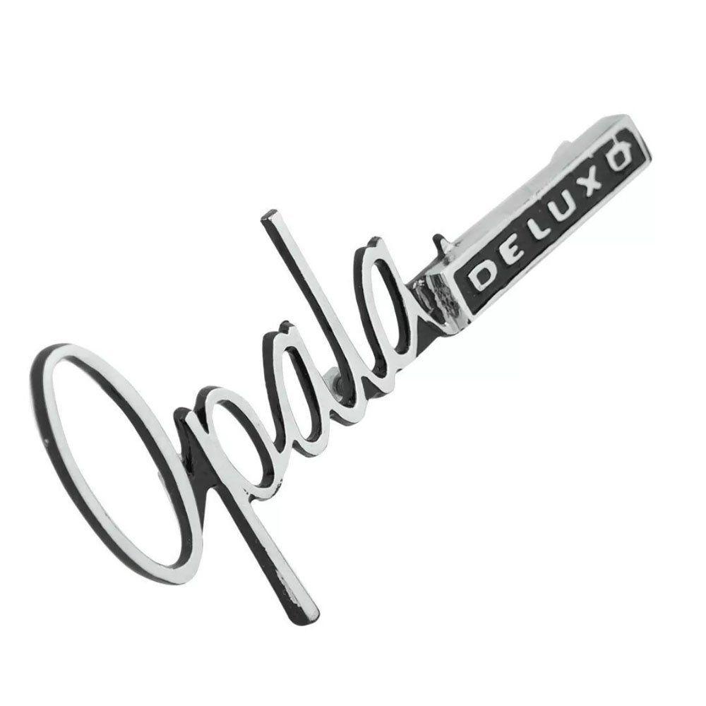 Emblema para GM Opala de luxo de 1969 à 1972  - Bunnitu Peças e Acessórios