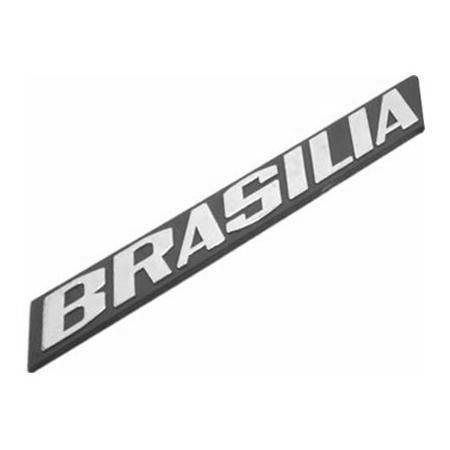 Emblema para VW Brasilia  - Bunnitu Peças e Acessórios