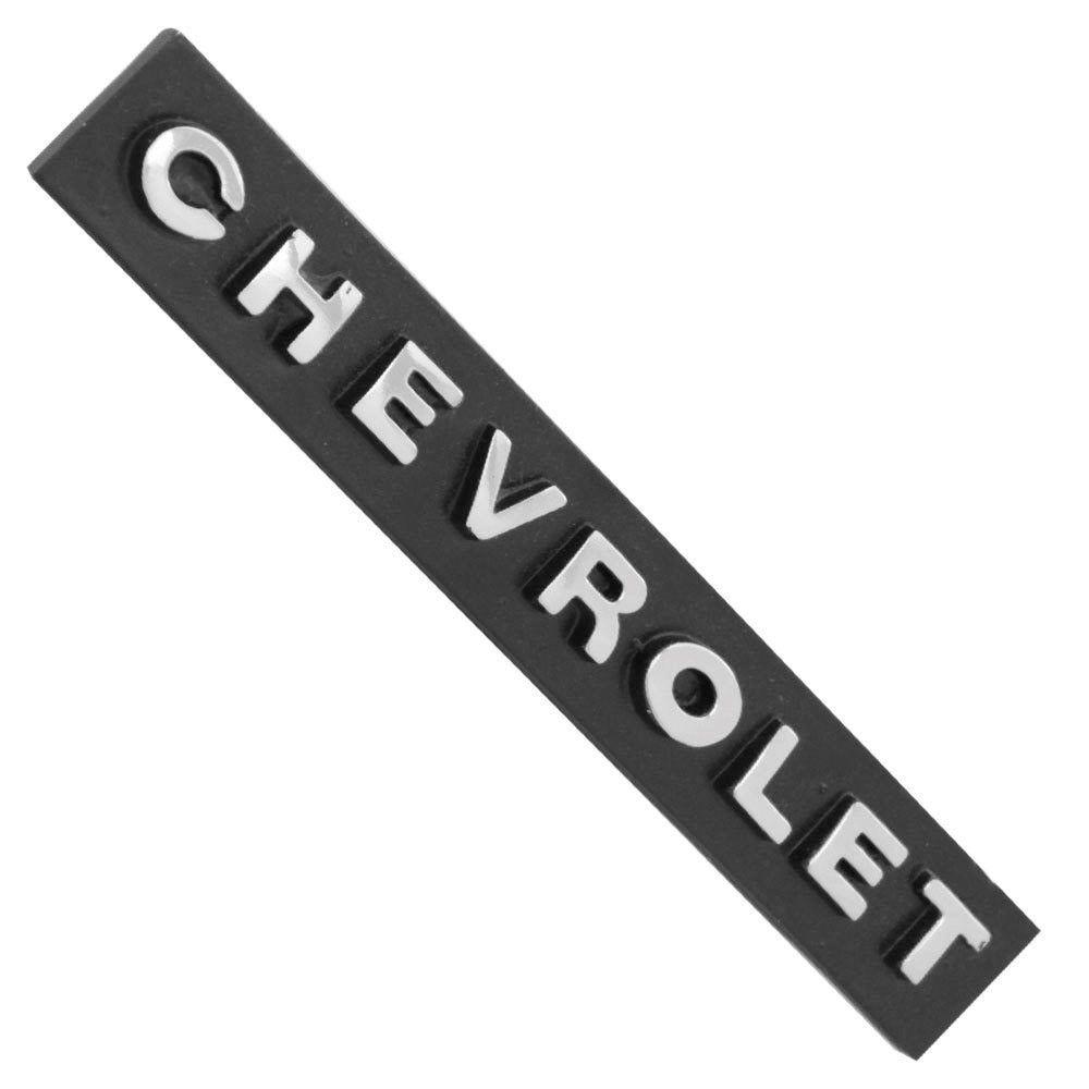 Emblema plaqueta modelo Chevrolet para GM Opala 1971 à 1972 e SS até 1974  - Bunnitu Peças e Acessórios