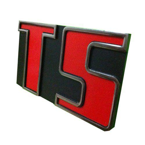 Emblema plástico TS para VW Passat   - Bunnitu Peças e Acessórios