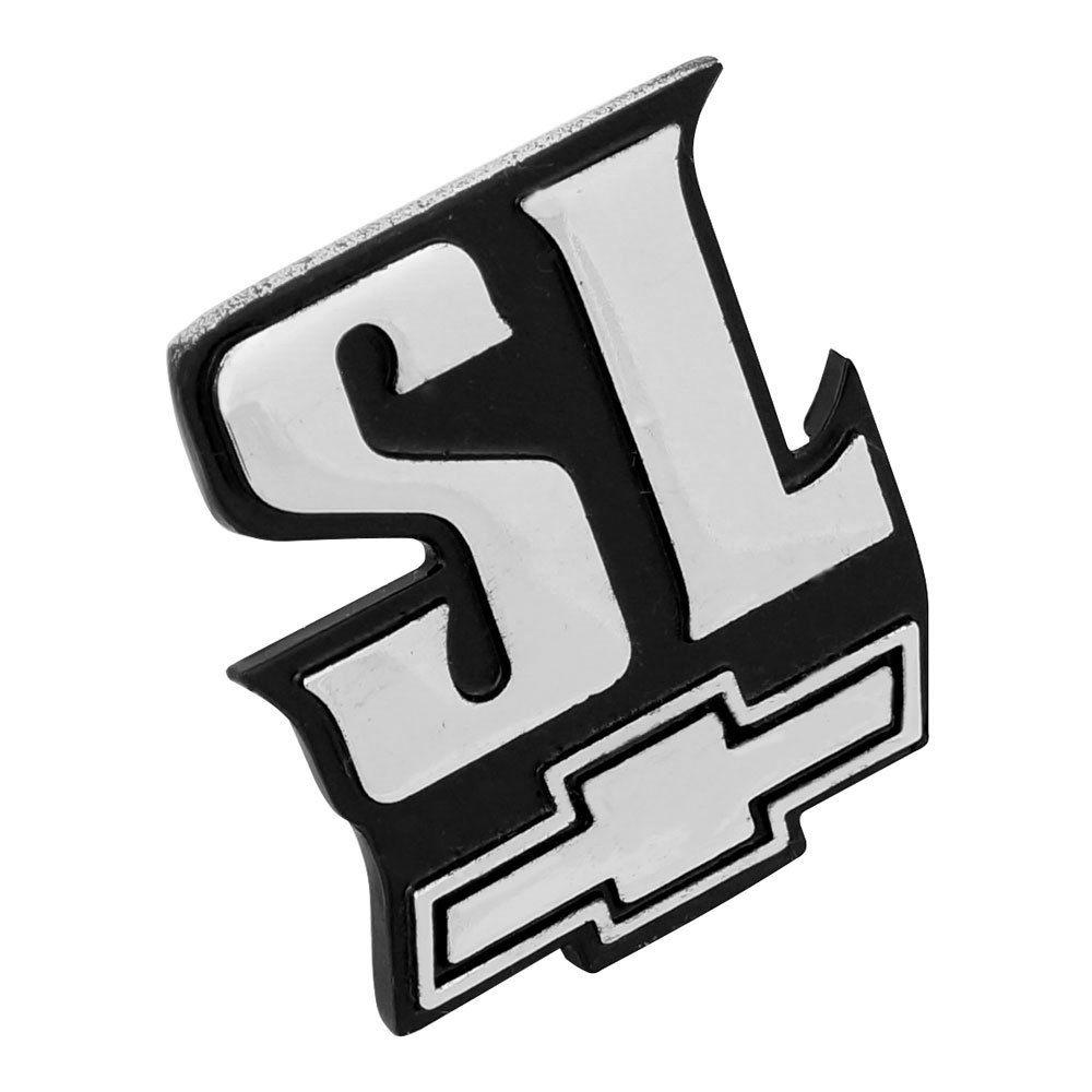 Emblema SL GM Chevrolet Chevette Chevy  - Bunnitu Peças e Acessórios