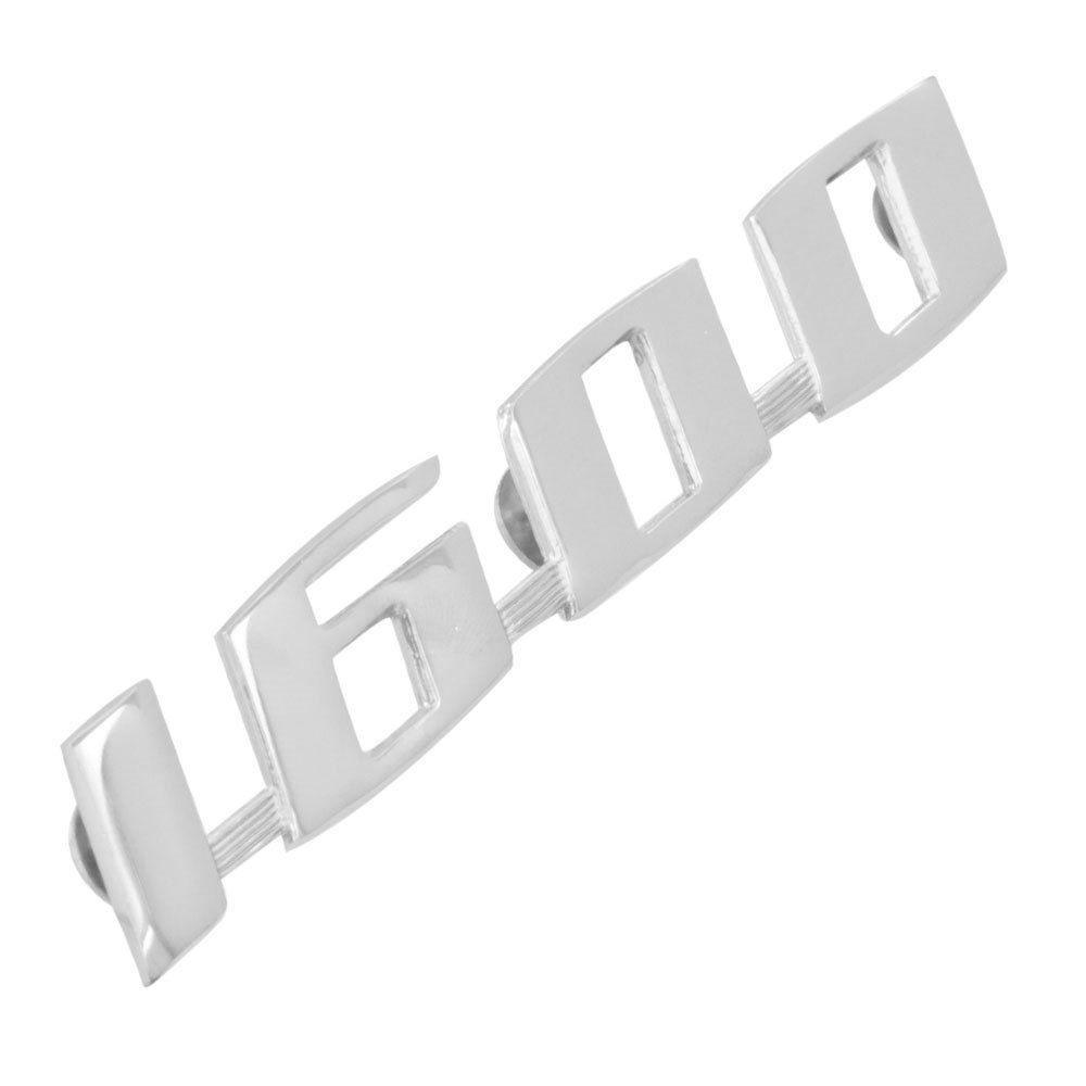 Emblema VW 1600 Fusca  - Bunnitu Peças e Acessórios