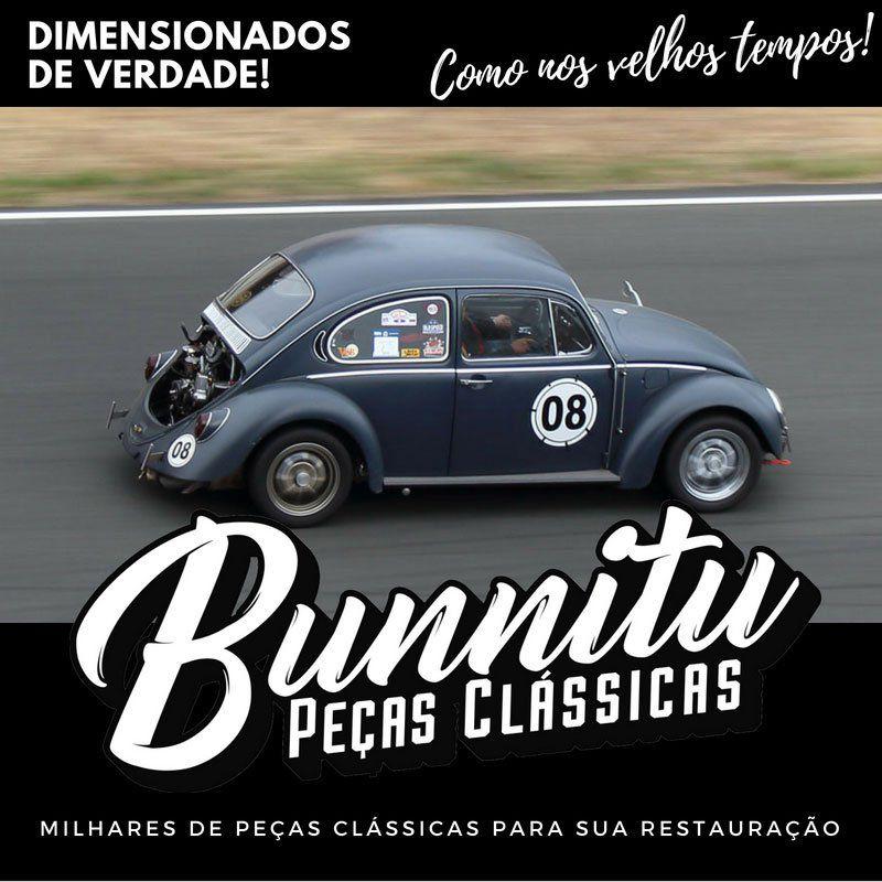 Escapamento para Puma e VW Variant com ponteira cromada  - Bunnitu Peças e Acessórios