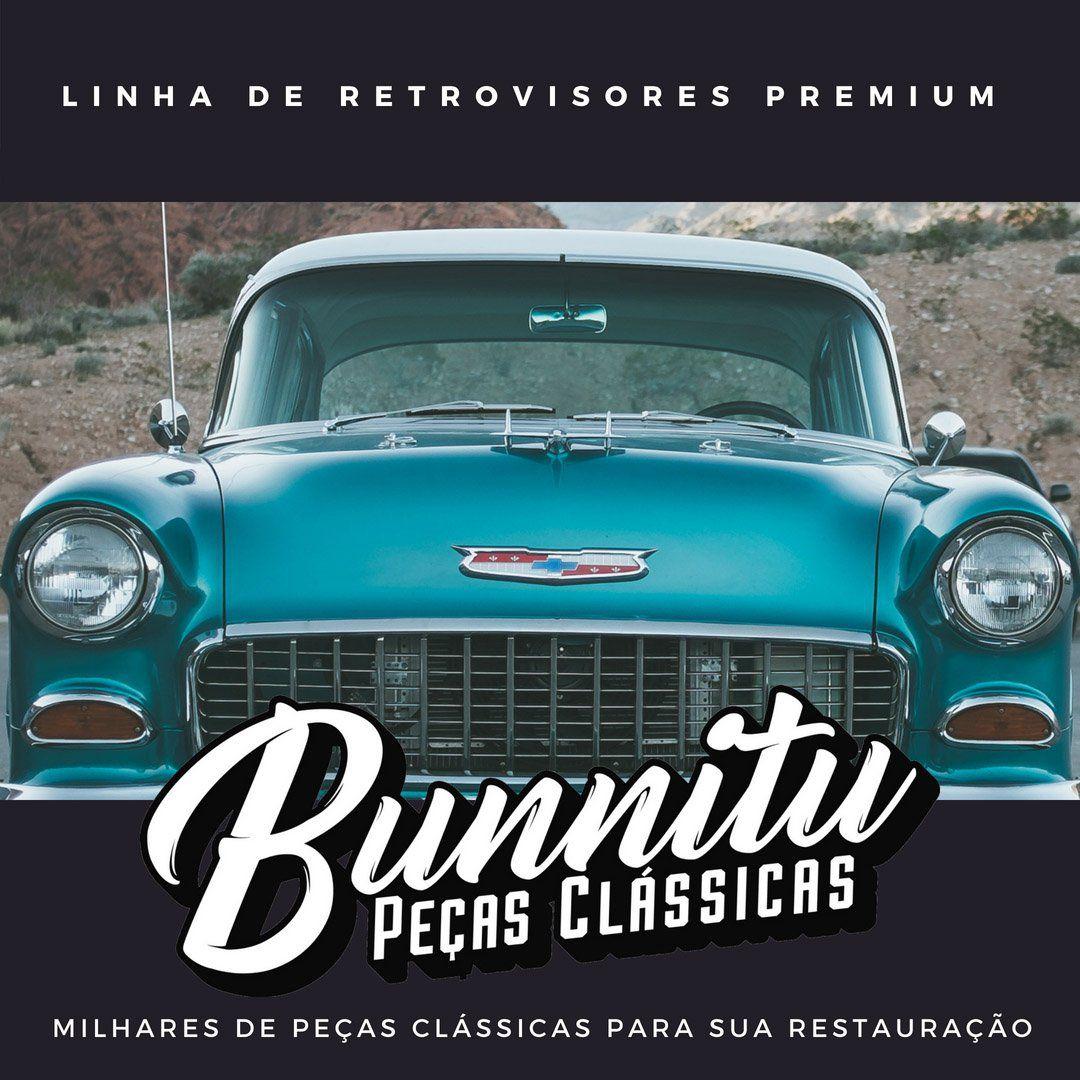 Espelho retrovisor para Pick Up Chevrolet Marta Rocha 1948 à 1958 - Lado do Motorista  - Bunnitu Peças e Acessórios