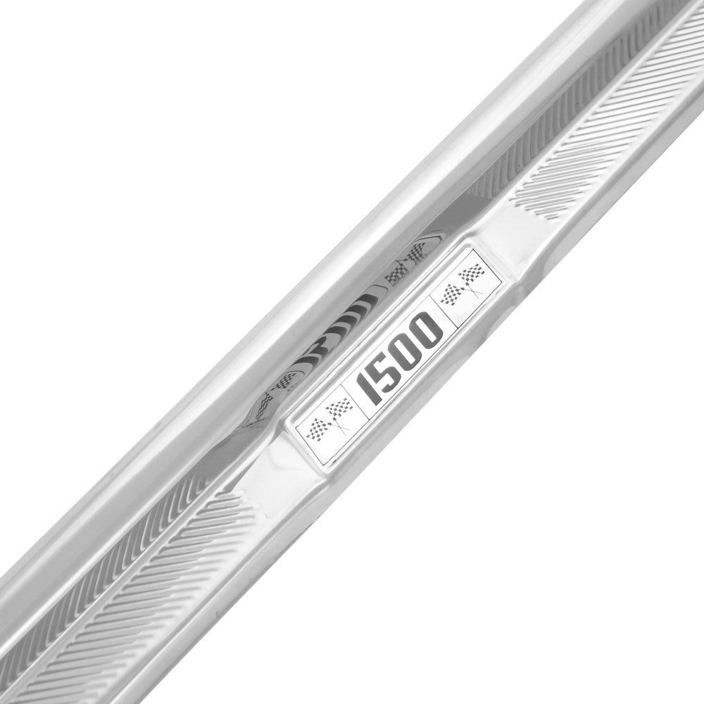Estribinho Interno Soleira Porta Alumínio Estribo para VW Fusca - Modelo 1500  - Bunnitu Peças e Acessórios