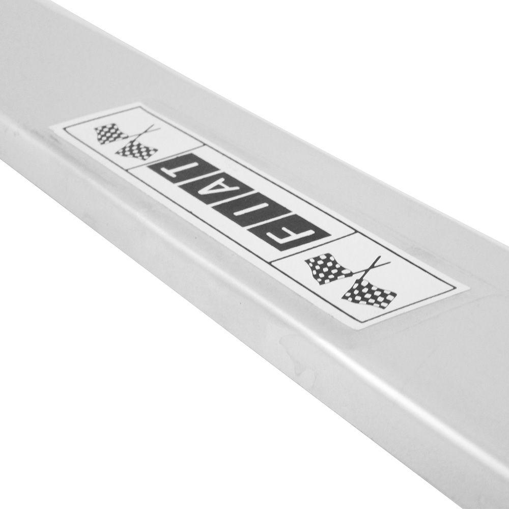 Estribo Interno Soleira Porta Alumínio para Fiat 147  - Bunnitu Peças e Acessórios