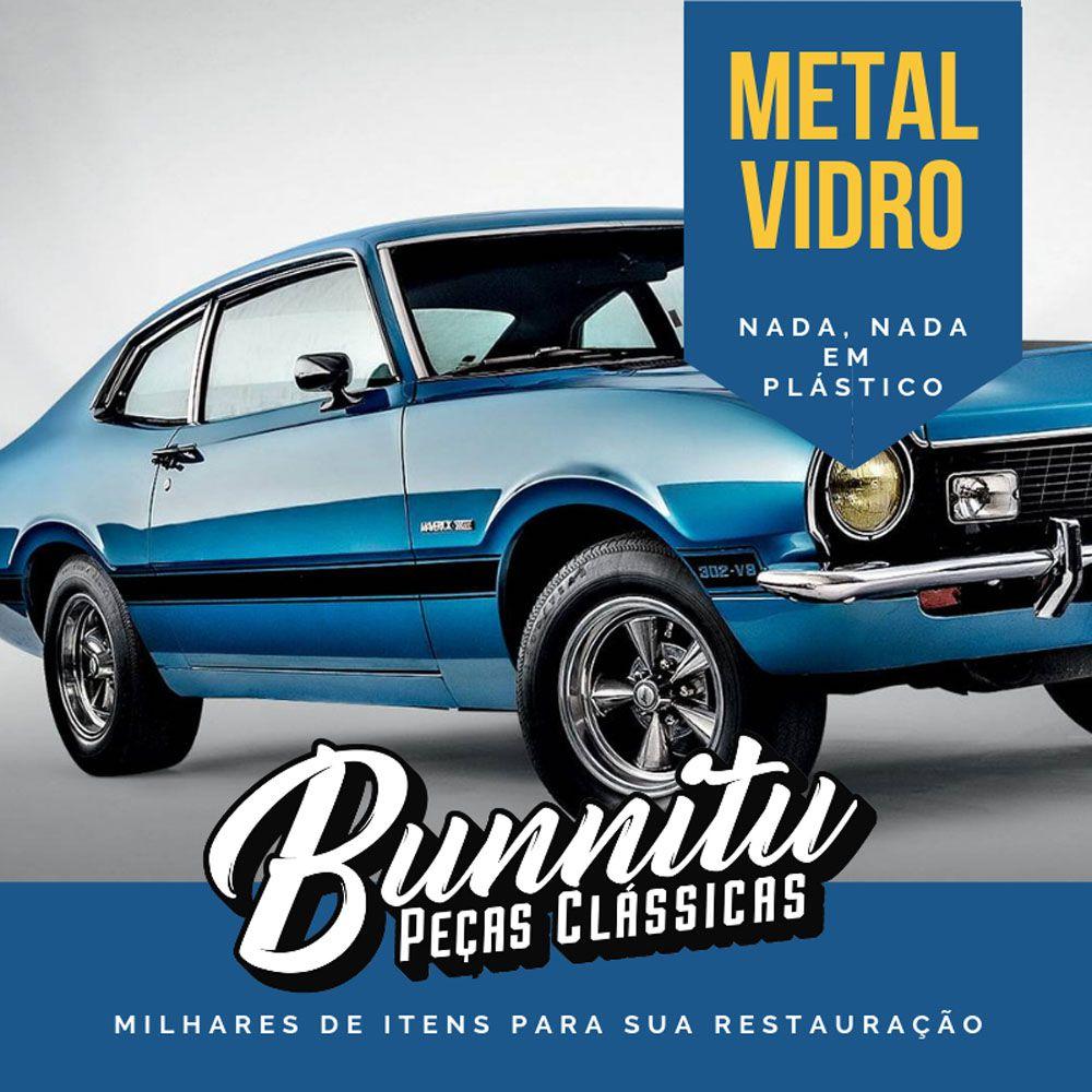 Farol auxiliar milha com lente cristal para Ford Maverick GT GM Opala SS Dodge  - Bunnitu Peças e Acessórios