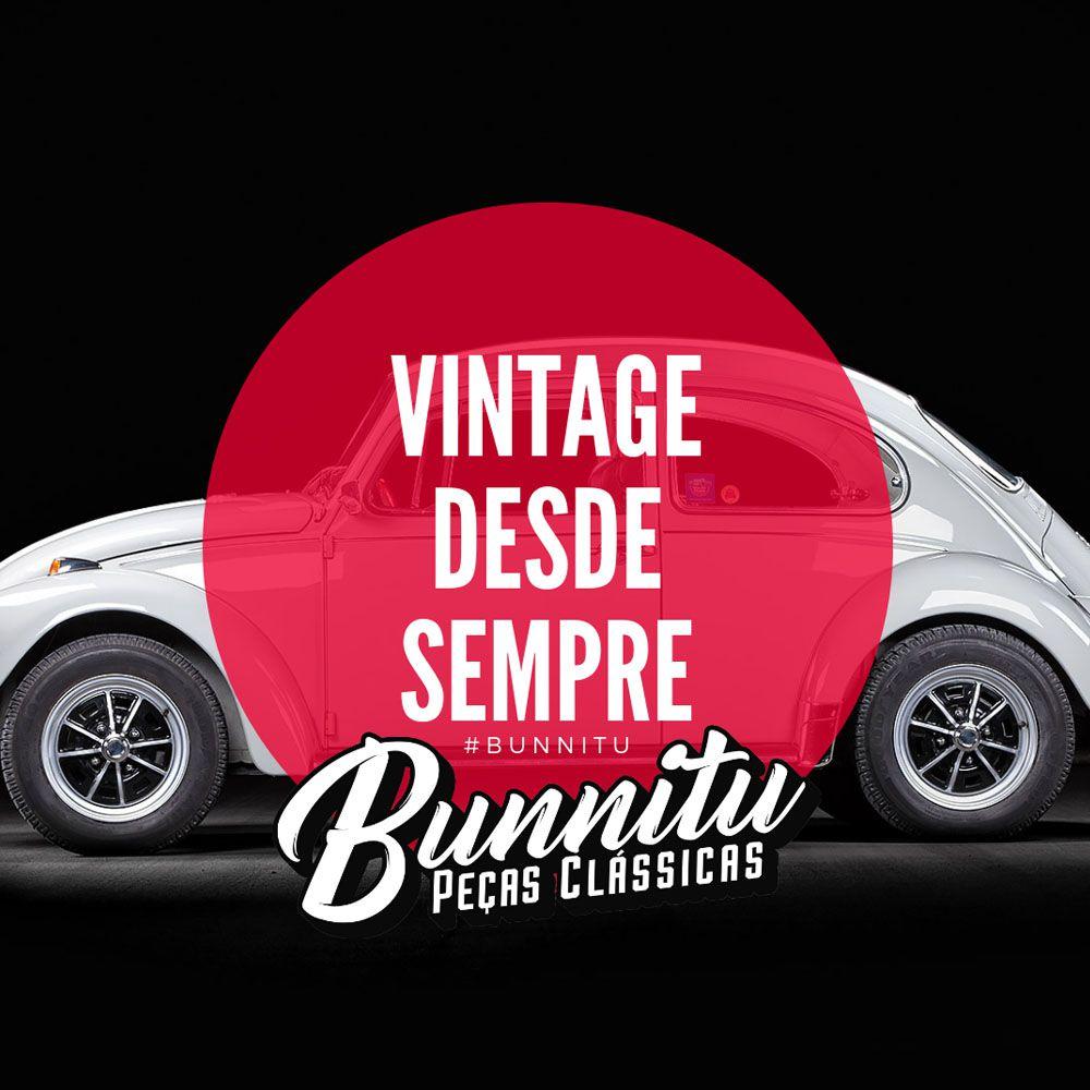 Farol auxiliar milha sem pestana para VW Fusca Gordini Karmann Ghia  - Bunnitu Peças e Acessórios