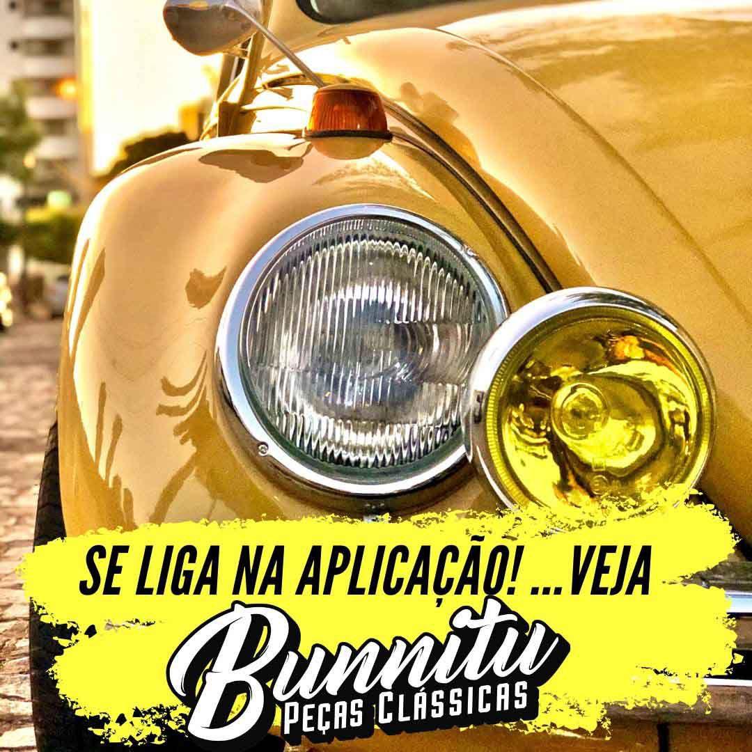 Farol de milha central com lente amarela modelo Super Oscar para MP Lafer  - Bunnitu Peças e Acessórios