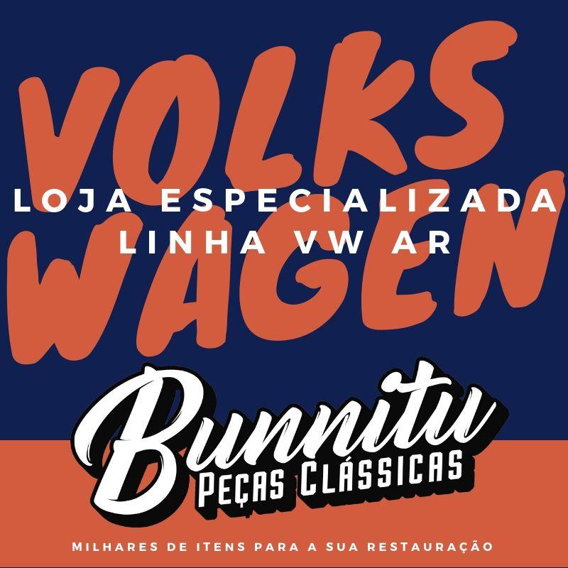 Farol Olho de Boi Lente Lisa para VW Fusca até 1972 e Kombi até 1975  - Bunnitu Peças e Acessórios