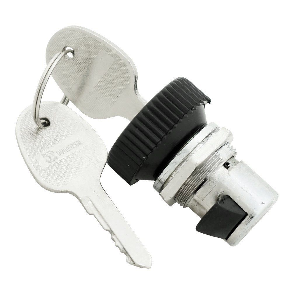 Fecho do porta luvas com chave para VW Fusca após 1984  - Bunnitu Peças e Acessórios