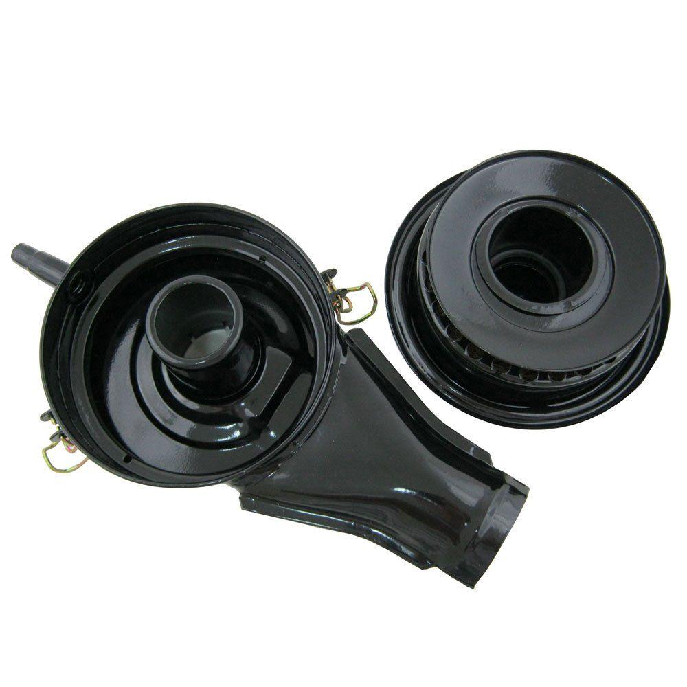 Filtro de ar completo banhado à óleo para VW Fusca e Gurgel  - Bunnitu Peças e Acessórios