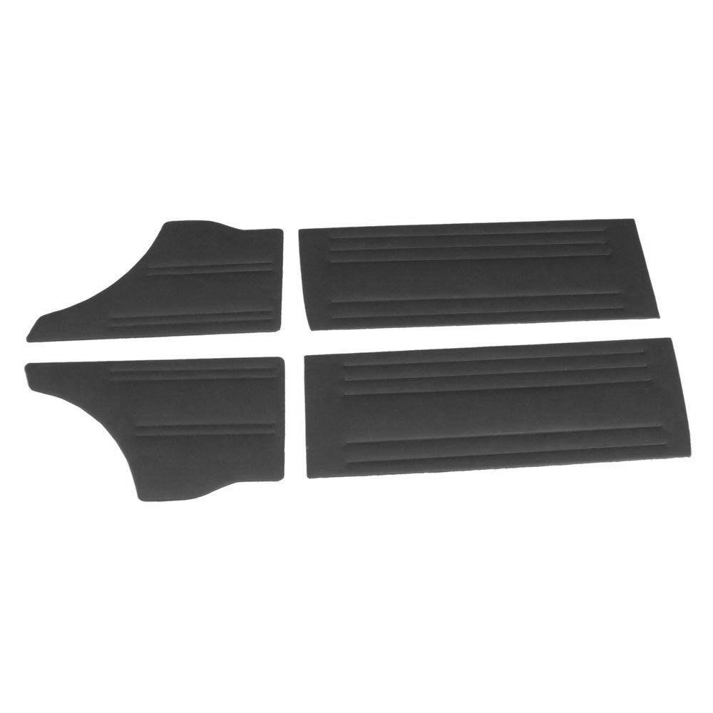 Forração de porta e lateral na cor preta para GM Chevette 1973 à 1983  - Bunnitu Peças e Acessórios