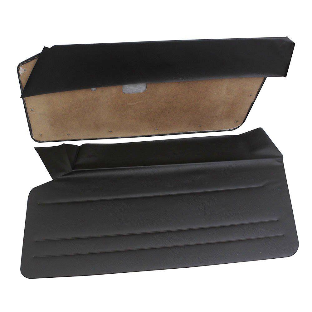 Forração de porta na cor preta para Puma GTB Modelo S1  - Bunnitu Peças e Acessórios