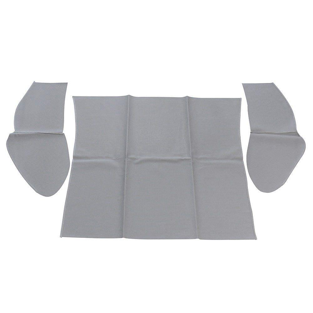 Forração do porta mala traseiro cor cinza VW Fusca  - Bunnitu Peças e Acessórios