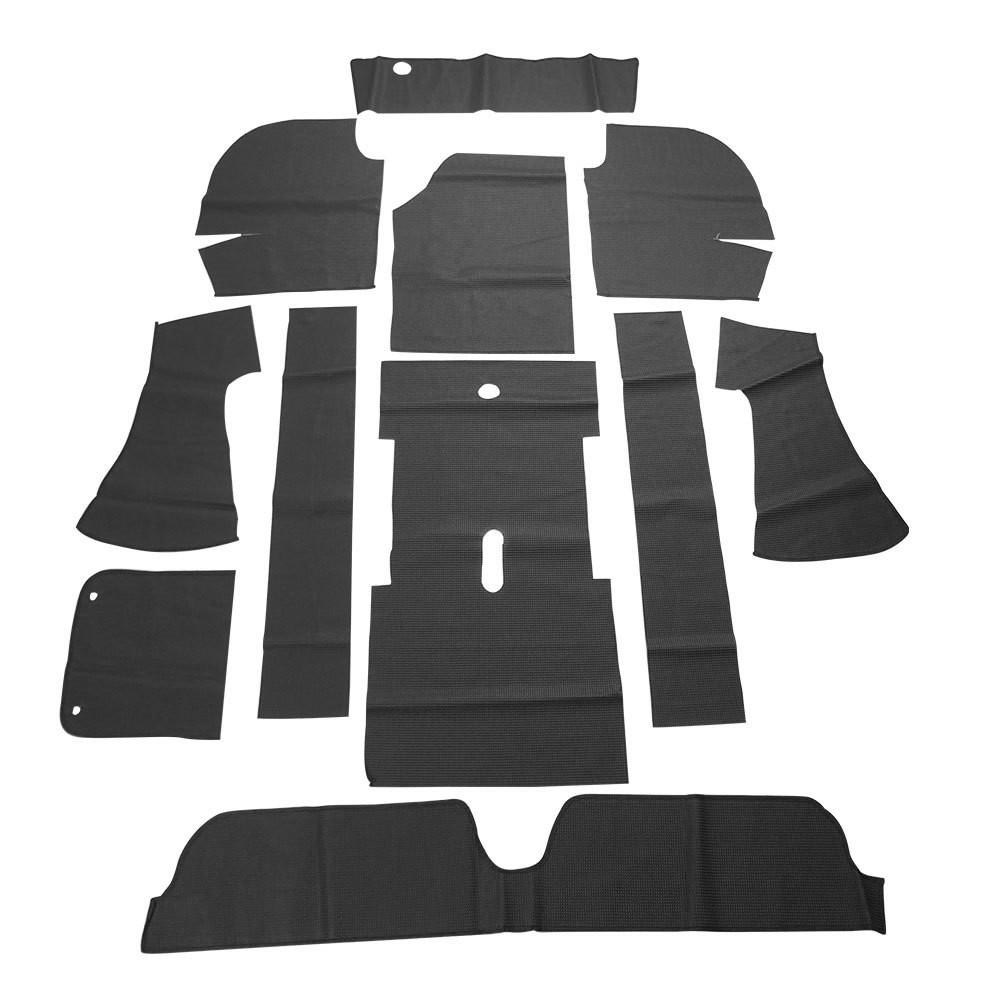 Forração interna passadeira na cor preta para VW Variant 1  - Bunnitu Peças e Acessórios