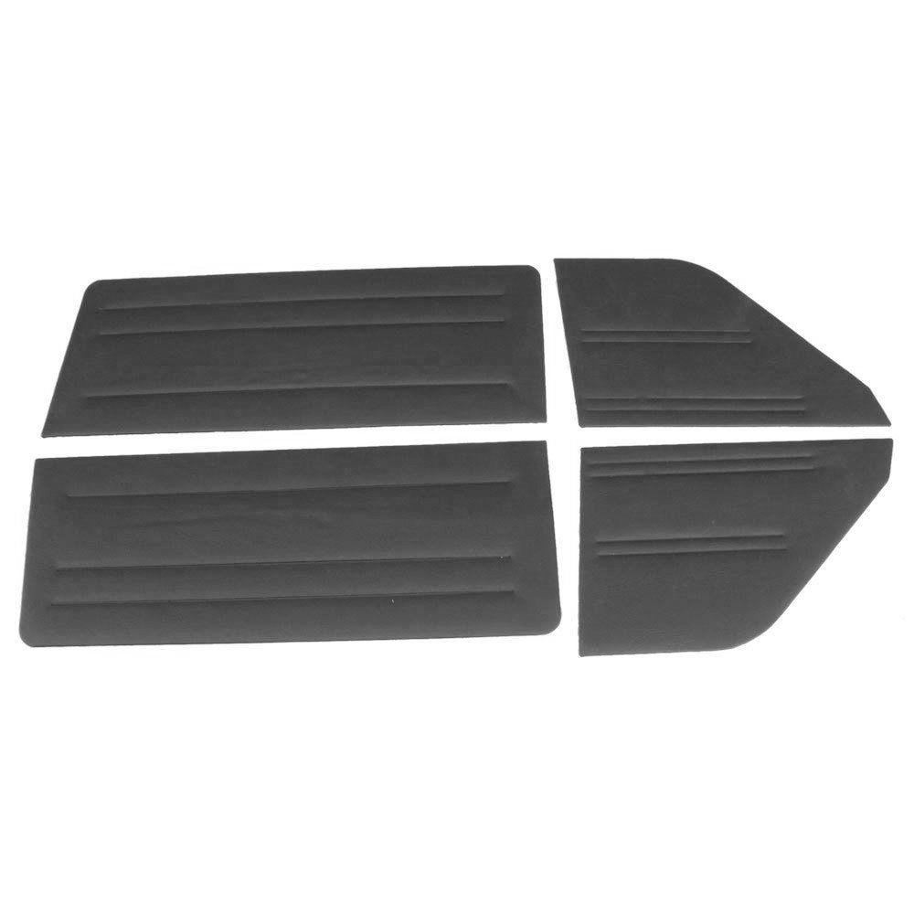 Forração lateral na cor preta para Ford Corcel até 1977  - Bunnitu Peças e Acessórios