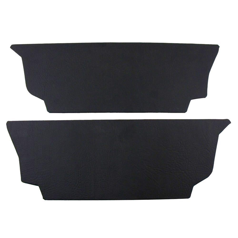 Forração rodapé do banco traseiro na cor preto para VW Fusca  - Bunnitu Peças e Acessórios