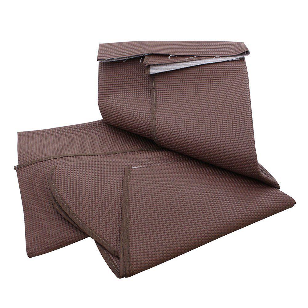 Forro do porta mala traseiro cor marrom VW Fusca  - Bunnitu Peças e Acessórios
