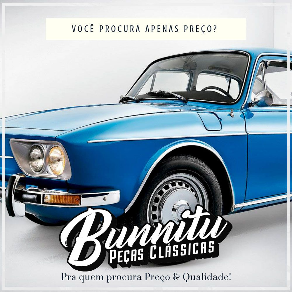 Friso original da caixa de ar lateral para VW Variant  - Bunnitu Peças e Acessórios