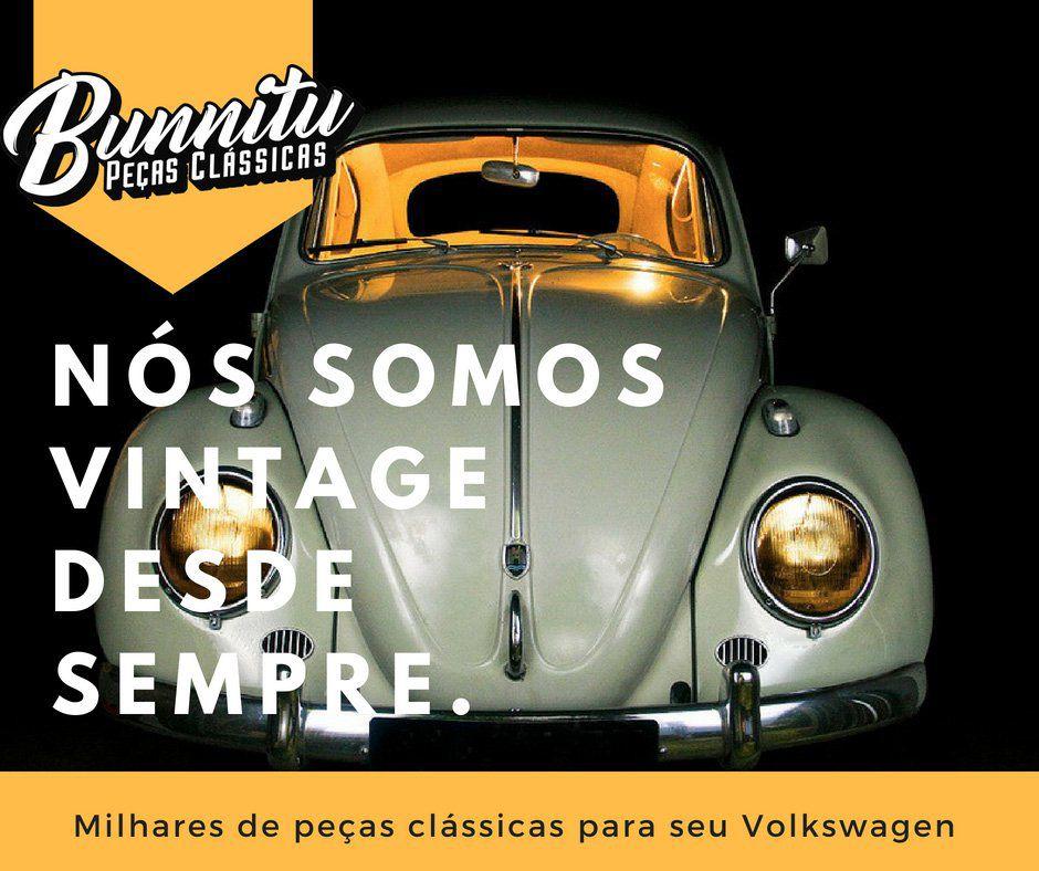 Garra cromada batente de parachoque modelo Euro Style VW Fusca e MP Lafer - Linha Wolff Collection  - Bunnitu Peças e Acessórios